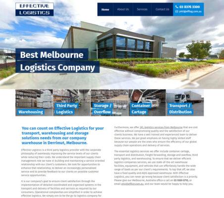 Effective Logistics